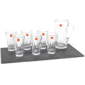 RCR 73261020006 Crystal Glassware Fluente Jug and Glasses Set, 7 Pieces Thumbnail 3