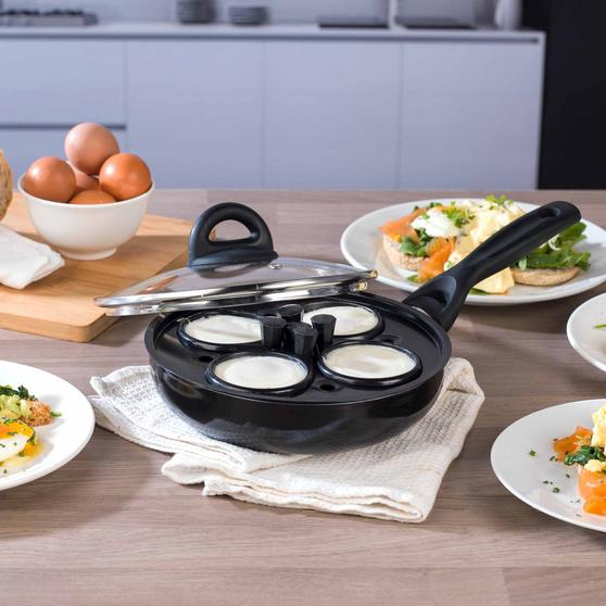 Beldray Non-Stick 4 Cup Egg Poacher Thumbnail 2