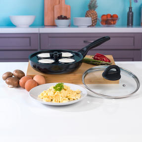 Beldray BW07013GP Non-Stick 4 Cup Egg Poacher Thumbnail 2