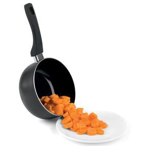 Beldray BW07015GP 3 Piece Non-Stick Ceramic Saucepan Set, 16/18/20 cm, Black Thumbnail 8