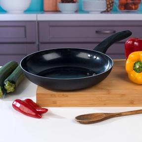 Beldray BW07016GP 4 Piece Non-Stick Pan Set with Frying Pan and Saucepans, Black Thumbnail 9
