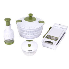 Salter Healthy Eating Food Preparation Set with Choppers, Mandolin and Salad Spinner Thumbnail 7