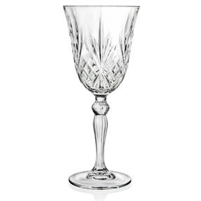 RCR COMBO-2077 Melodia Crystal Set of 6 Wine Glasses and Set of 6 Champagne Flutes Thumbnail 9