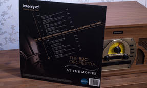 Intempo COMBO-2291  Vintage Record Player Turntable Media Unit with BBC Orchestra Vinyl, Wood Thumbnail 6