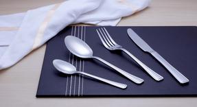 Salter COMBO-2298 Elegance Buxton 32 Piece Cutlery Set, Stainless Steel, 15 Year Guranteee Thumbnail 2