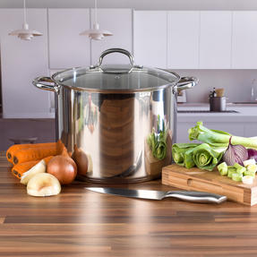 Russell Hobbs COMBO-2098 Saucepan Set with Stock Pot, 6 Piece, Stainless Steel Thumbnail 8