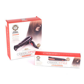 Nicky Clarke COMBO-3076 Classic Lightweight Hairdryer and 200°C Ceramic Straighteners Thumbnail 3