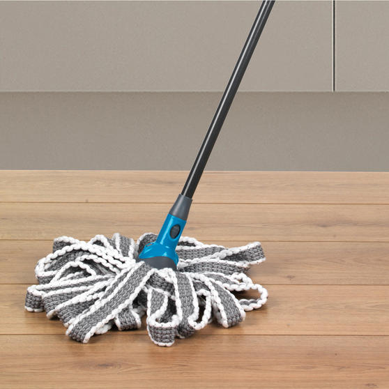 Beldray Click and Connect Telescopic Handle w/ Chenille Mop, Microfibre Mop and Duster Thumbnail 6
