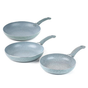 Russell Hobbs COMBO-3125 Stone Collection Frying Pan Set with Pan Protectors, 20 / 24 / 28 cm, Daybreak Thumbnail 6