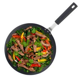 Salter COMBO-3127 Pan For Life Frying Pan Set with Pan Protectors, 24 / 28 cm, Black Thumbnail 4