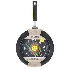 Salter COMBO-3127 Pan For Life Frying Pan Set with Pan Protectors, 24 / 28 cm, Black Thumbnail 8