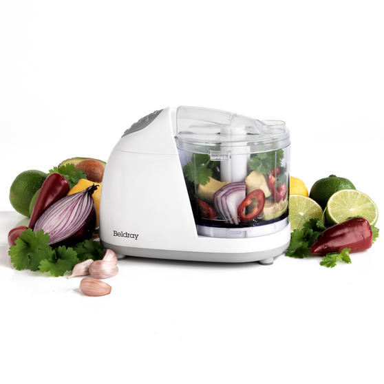Beldray EK2182BAZ Mini Chopper Extra, 150 W, White