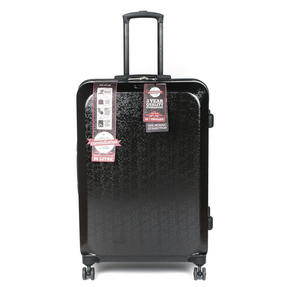 """Constellation Mosaic Effect ABS Hard Shell Suitcase, 28"""", Black Thumbnail 1"""