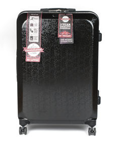 """Constellation Mosaic Effect ABS Hard Shell Suitcase, 28"""", Black Thumbnail 4"""
