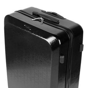 """Constellation Mosaic Effect ABS Hard Shell Suitcase, 28"""", Black Thumbnail 8"""