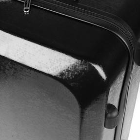 """Constellation Mosaic Effect ABS Hard Shell Suitcase, 28"""", Black Thumbnail 10"""