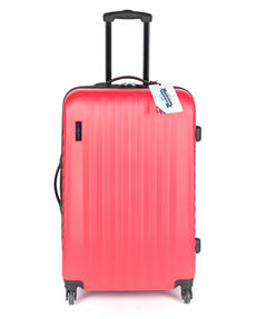 Constellation LG00404PINKSDMIL Eclipse ABS Hard Shell Suitcase Set, 20?, 24? & 28?, Pink Thumbnail 2
