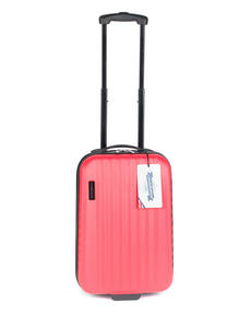 "Constellation Eclipse ABS Hard Shell Suitcase Set, 20"", 24"" & 28"", Pink Thumbnail 4"