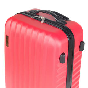 Constellation LG00404PINKSDMIL Eclipse ABS Hard Shell Suitcase Set, 20?, 24? & 28?, Pink Thumbnail 6