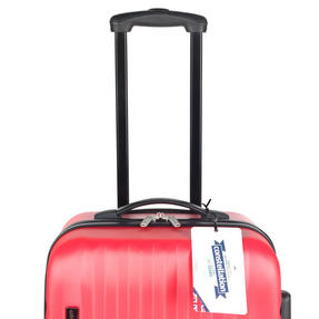 Constellation LG00404PINKSDMIL Eclipse ABS Hard Shell Suitcase Set, 20?, 24? & 28?, Pink Thumbnail 7
