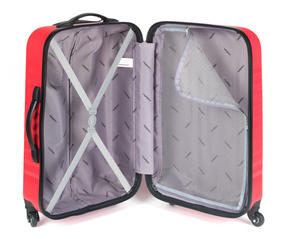 Constellation LG00404PINKSDMIL Eclipse ABS Hard Shell Suitcase Set, 20?, 24? & 28?, Pink Thumbnail 8