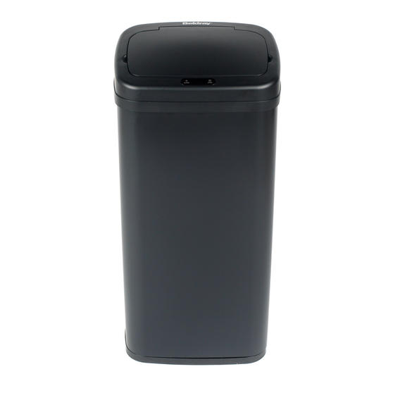 Beldray Square Sensor Bin, 40 Litre, Black Thumbnail 2
