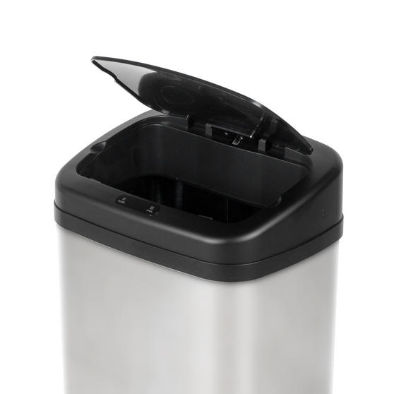 Beldray Square Sensor Bin,40 Litre Stainless Steel Thumbnail 3