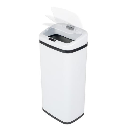 Beldray Square Sensor Bin, 40 Litre White Thumbnail 5
