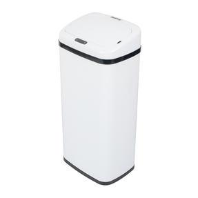 Beldray BW07020WGP Square Sensor Bin, 40 Litre White Thumbnail 1