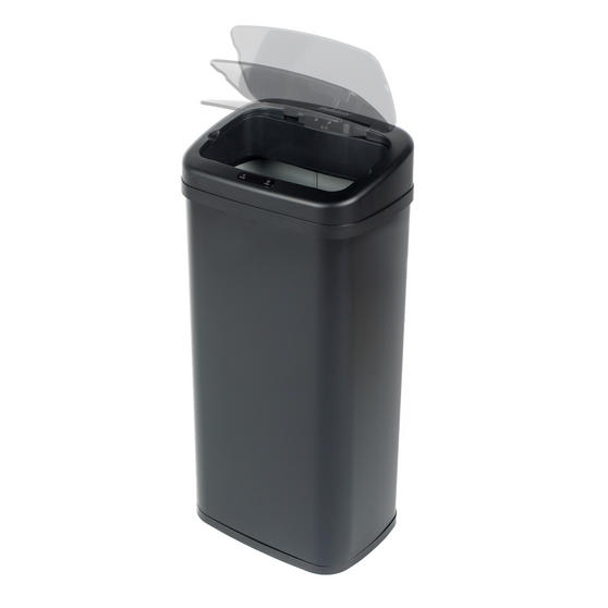 Beldray Square Sensor Bin, 50 Litre, Black Thumbnail 5