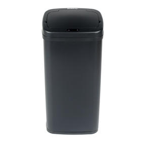 Beldray BW07021GP Square Sensor Bin, 50 Litre, Black Thumbnail 2