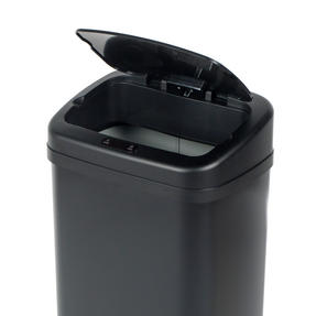 Beldray BW07021GP Square Sensor Bin, 50 Litre, Black Thumbnail 3