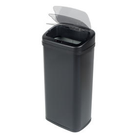 Beldray BW07021GP Square Sensor Bin, 50 Litre, Black Thumbnail 5