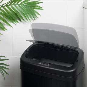 Beldray BW07021GP Square Sensor Bin, 50 Litre, Black Thumbnail 9