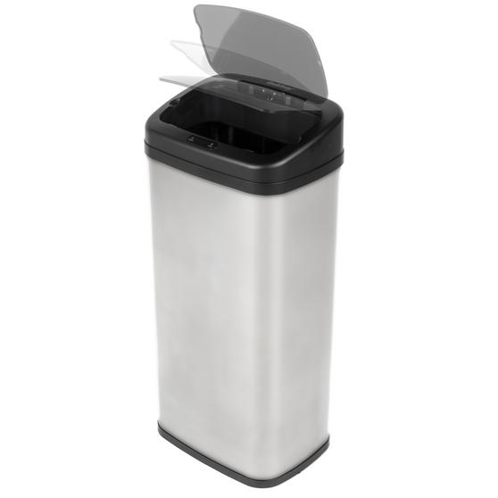 Beldray Square Sensor Bin, 50 Litre, Stainless Steel Thumbnail 5