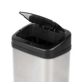 Beldray BW07021SSGP Square Sensor Bin, 50 Litre, Stainless Steel Thumbnail 3
