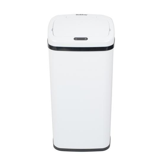 Beldray Square Sensor Bin, 50 Litre, White Thumbnail 2