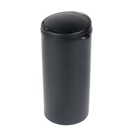 Beldray Round Sensor Bin, 40 Litre, Black Thumbnail 1