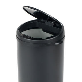 Beldray BW07022GP Round Sensor Bin, 40 Litre, Black Thumbnail 3