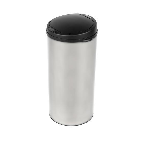 Beldray Round Sensor Bin, 40 Litre, Stainless Steel Thumbnail 1