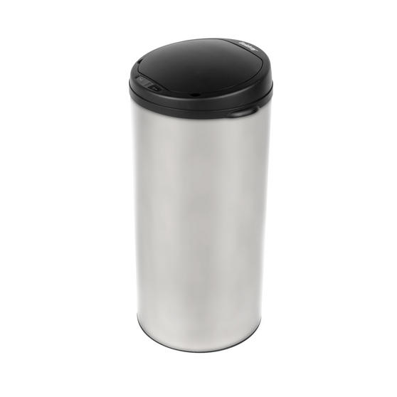 Beldray Round Sensor Bin, 40 Litre, Stainless Steel