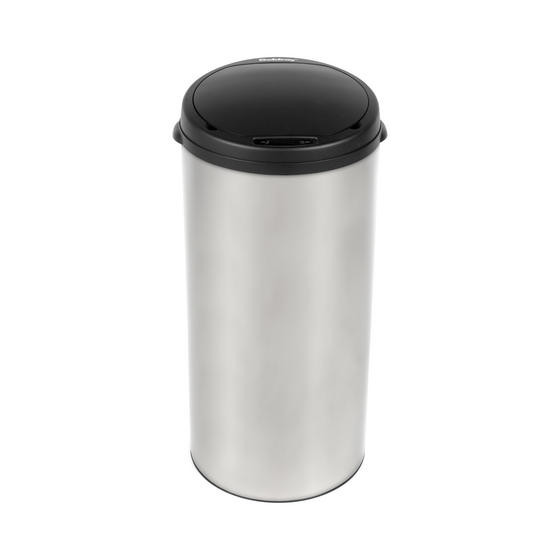 Beldray Round Sensor Bin, 40 Litre, Stainless Steel Thumbnail 2