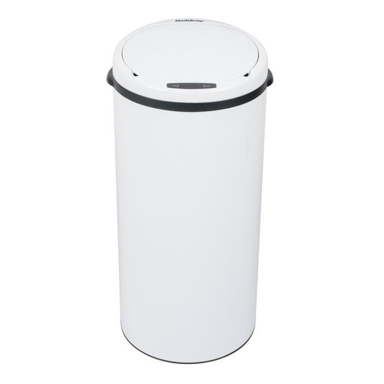 Beldray Round Sensor Bin, 40 Litre, White Thumbnail 2