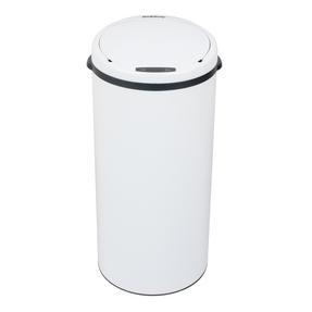 Beldray BW07022WGP Round Sensor Bin, 40 Litre, White Thumbnail 2
