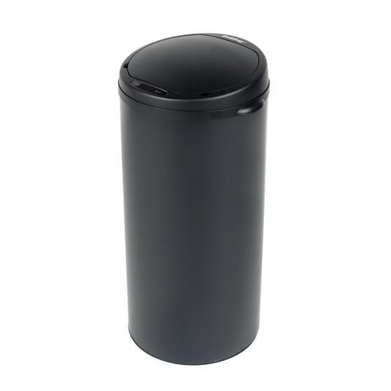 Beldray Round Sensor Bin, 50 Litre, Black Thumbnail 1
