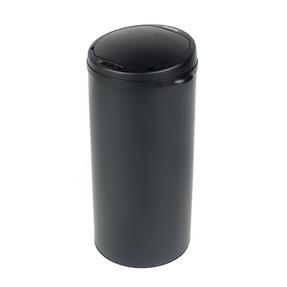 Beldray BW07023GP Round Sensor Bin, 50 Litre, Black Thumbnail 1