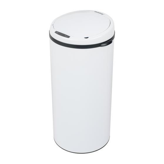 Beldray Round Sensor Bin, 50 Litre, White Thumbnail 1