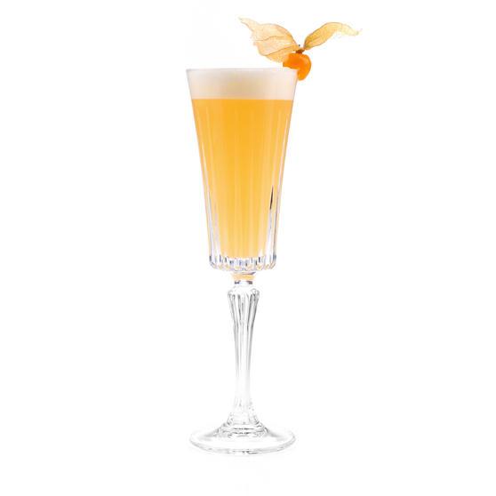 RCR 25874020006 Timeless Crystal Glassware Timeless Champagne Flutes Glasses, Set of 6