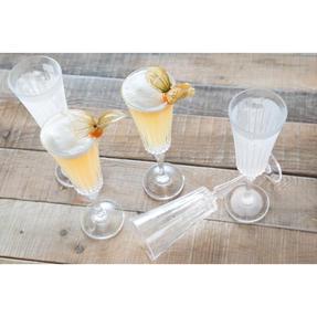 RCR 25874020006 Timeless Crystal Glassware Timeless Champagne Flutes Glasses, Set of 6 Thumbnail 2