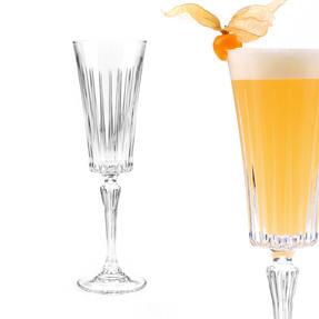 RCR 25874020006 Timeless Crystal Glassware Timeless Champagne Flutes Glasses, Set of 6 Thumbnail 3